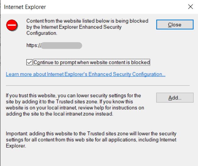 Функция безопасности Internet Explorer