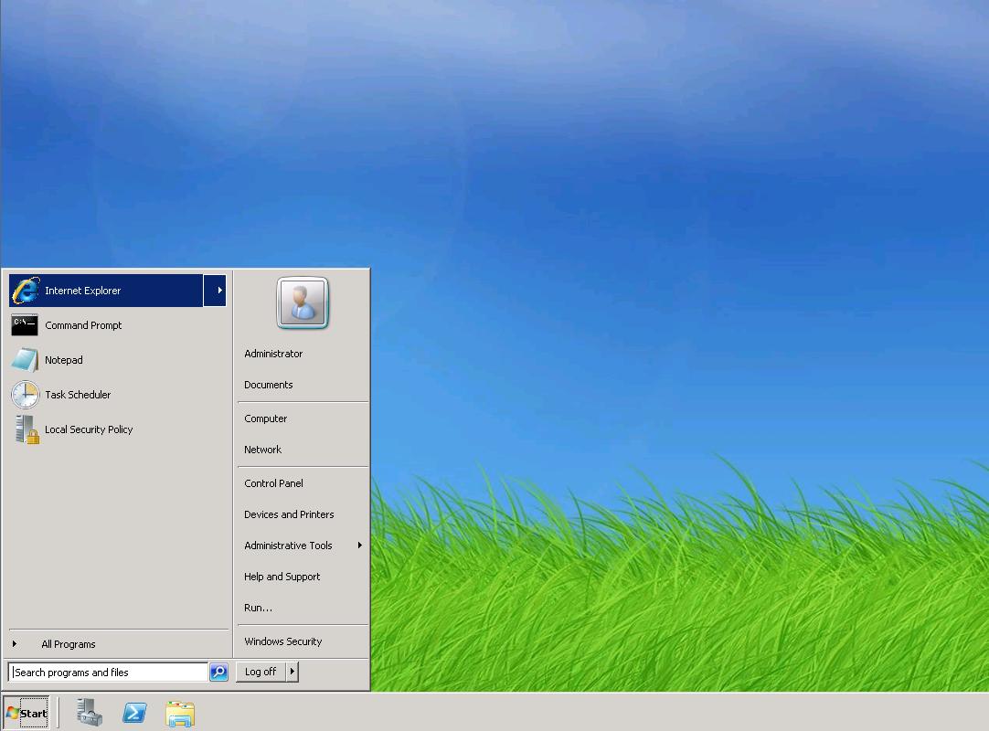 1. Запустите Internet Explorer